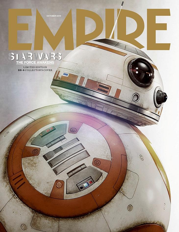 Portada de 'Empire' con BB-8