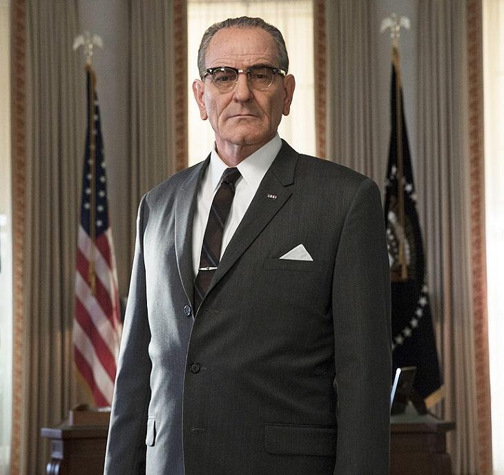 Bryan Cranston como Lyndon B. Johnson en 'All the way'