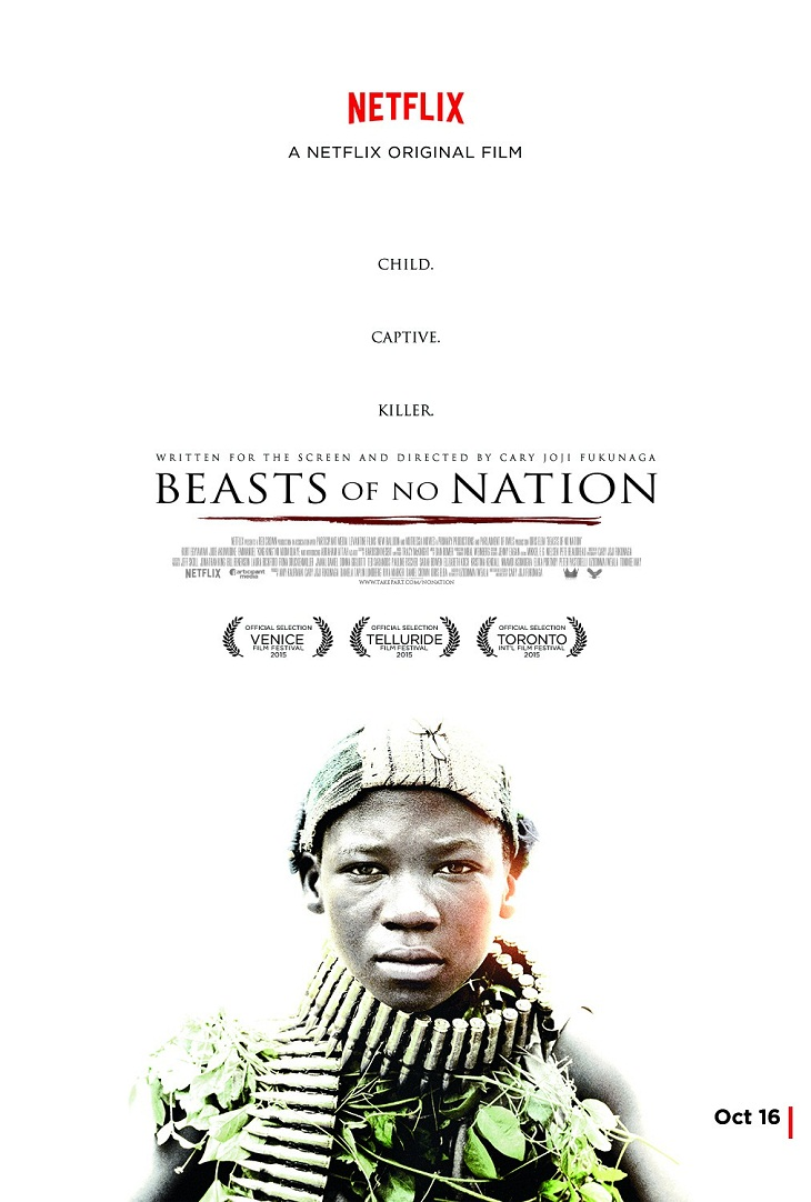 Póster de 'Beast of no nation'
