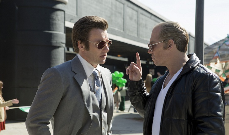 Johnny Depp y Joel Edgerton