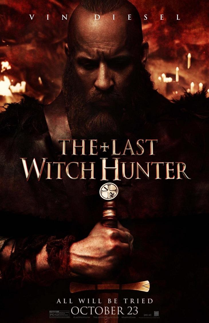 Otro cartel más para Diesel en 'The last witch hunter'