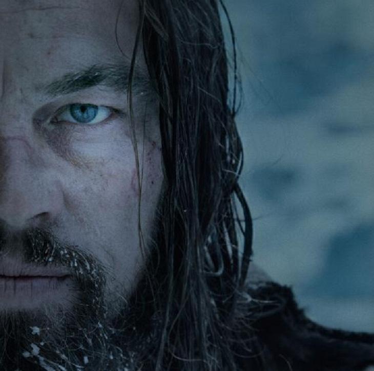 Leonardo DiCaprio con un impactante look en 'The Revenant'
