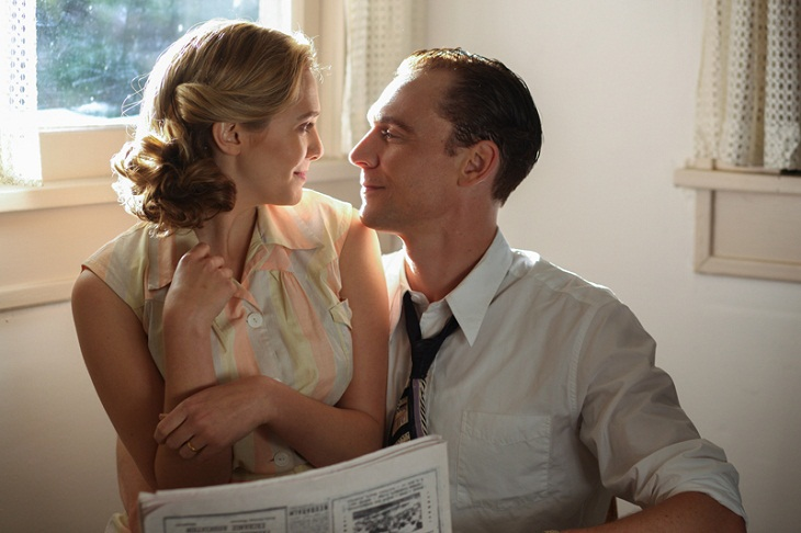 Tom Hiddleston se convierte en Hank Williams y Elizabeth Olsen en su esposa