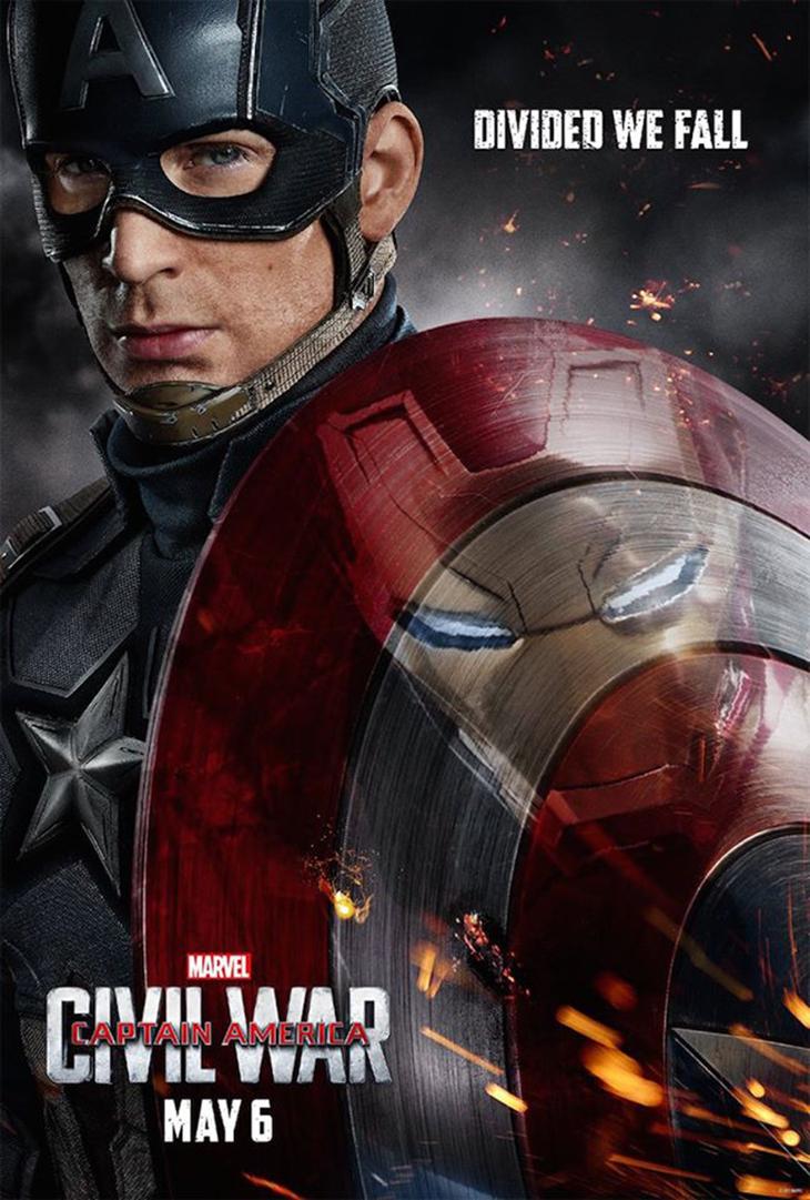 Póster de Captain America: Civil War