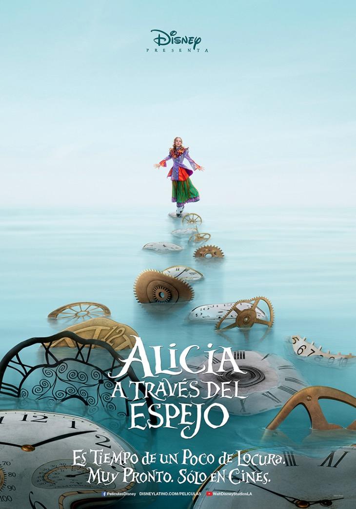 Póster de Alicia a tráves del espejo