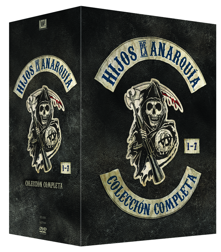 HIJOS DE LA ANARQUÍA (SONS OF ANARCHY) Pack completo