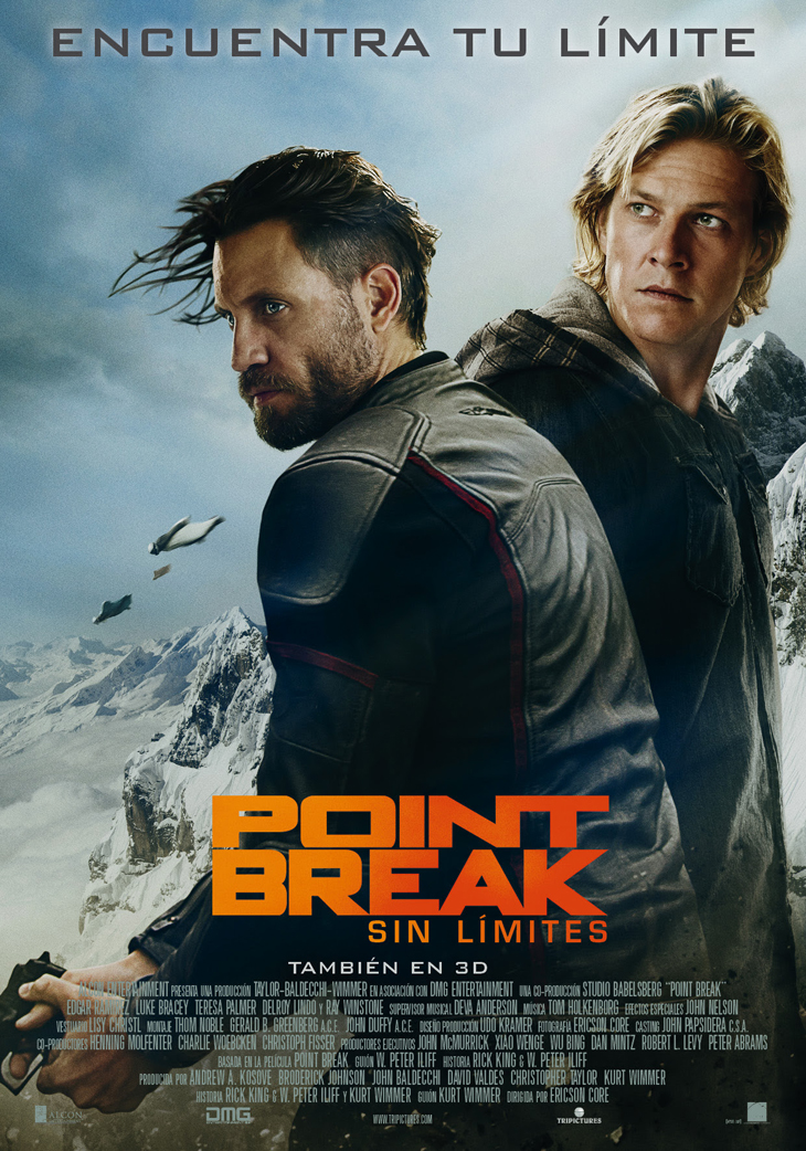 Póster de Point Break (Sin Límites)