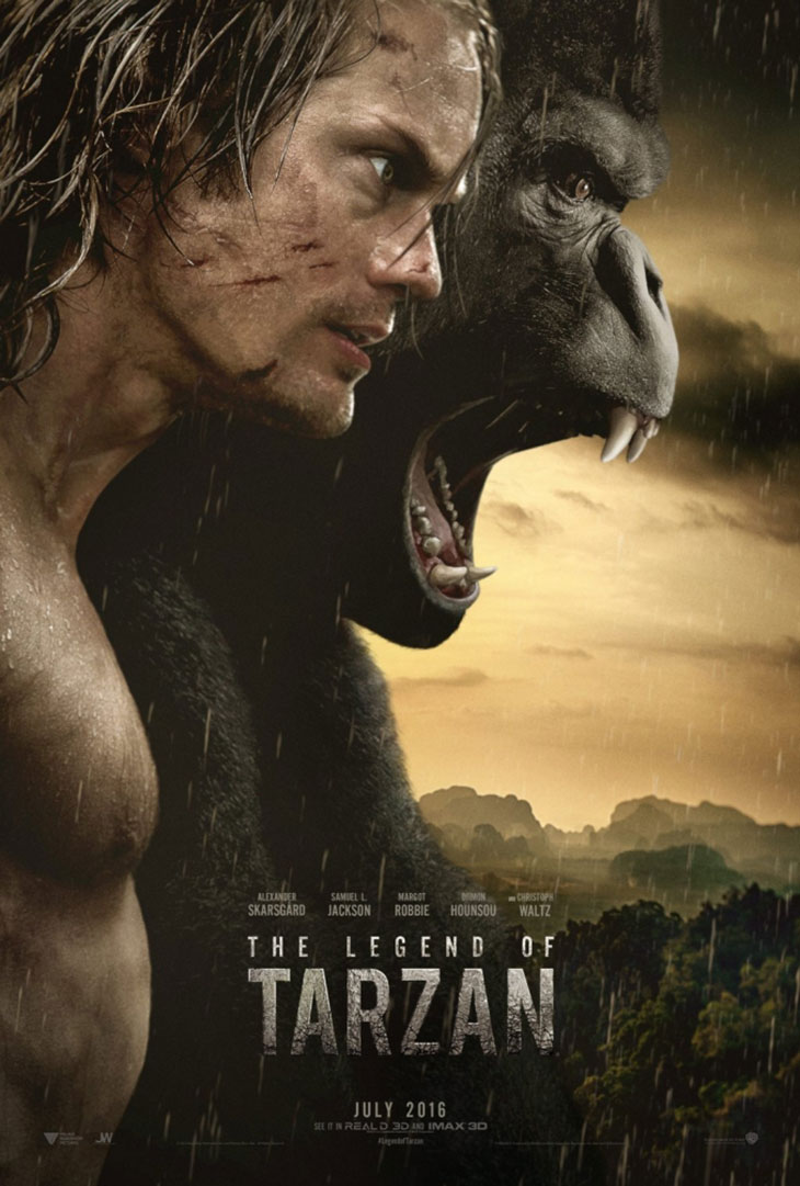 Póster de The Legend of Tarzan