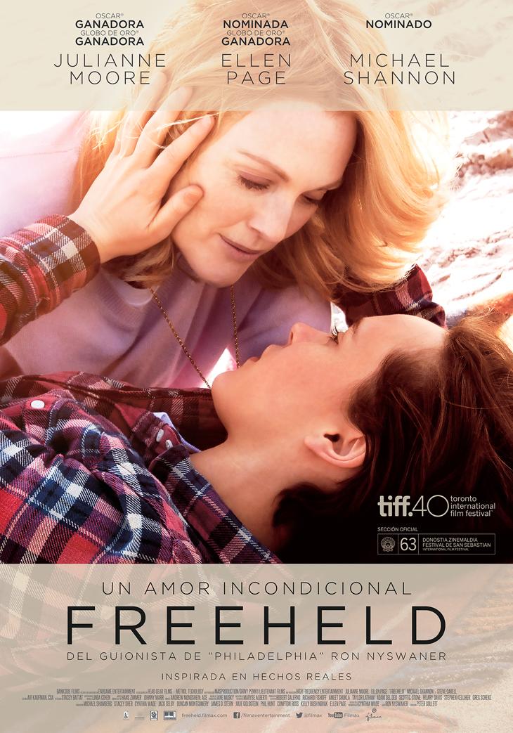 El próximo 6 de mayo de 2016 llegara a nuestra cartelera 'Freeheld, un amor incondicional'