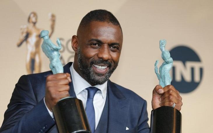Idris Elba, doble triunfador de la noche