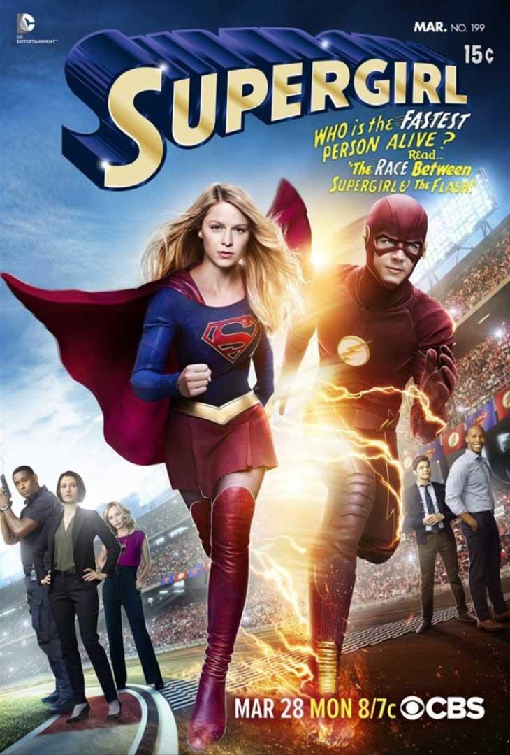 Crossover de The Flash y Supergirl