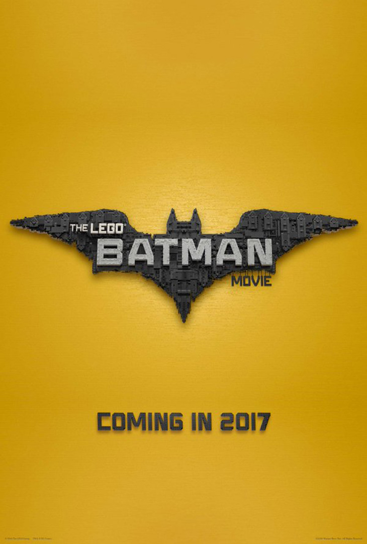 Póster de The LEGO Batman Movie
