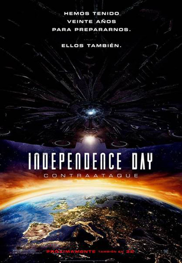Póster de Independence Day: Contraataque