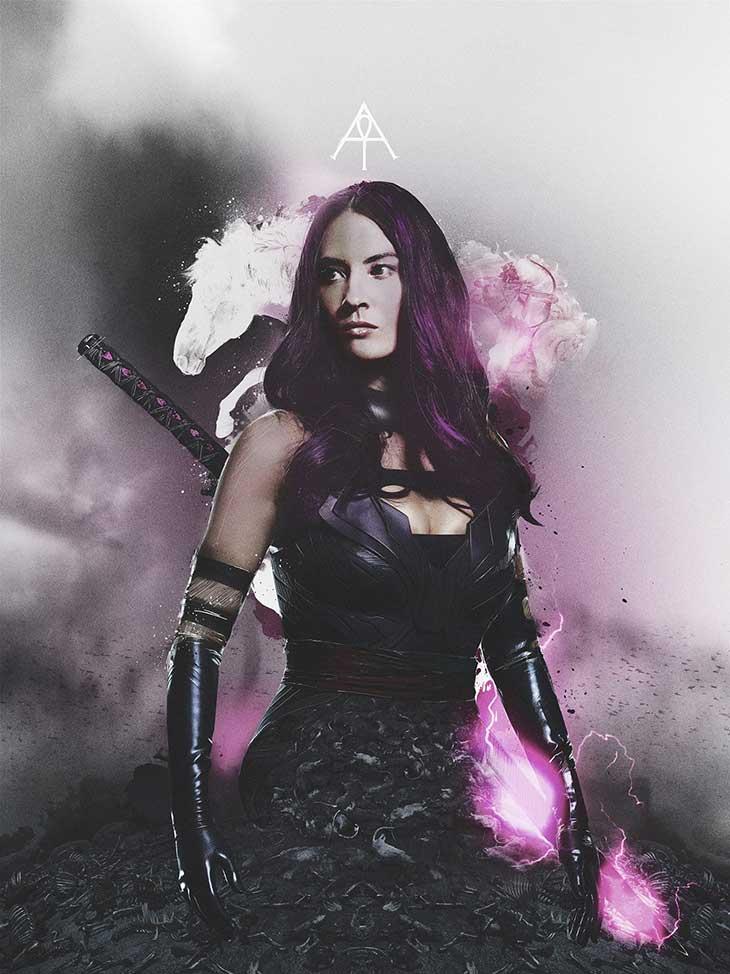 X-Men Apocalipsis Póster de Psylocke