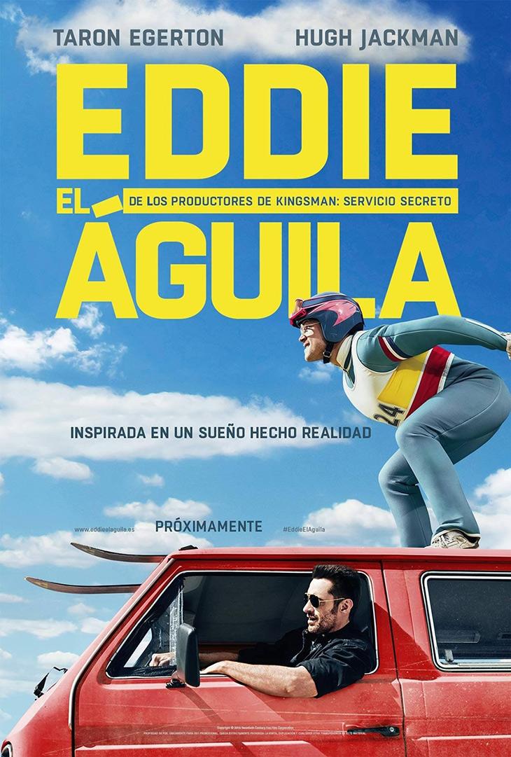 Cartel de Eddie el Águila
