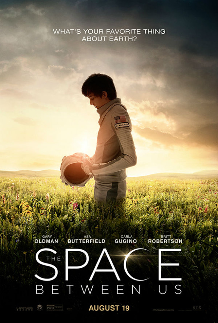 Póster de The Space Between Us