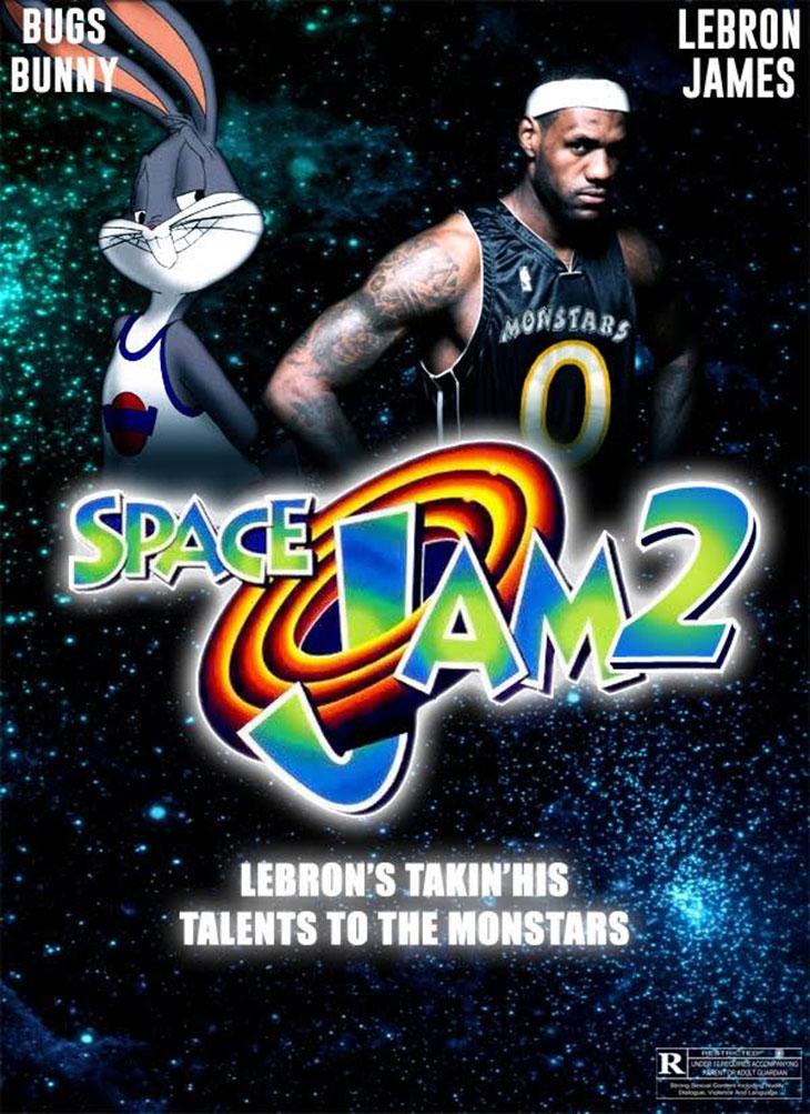 Fant art de Space Jam 2