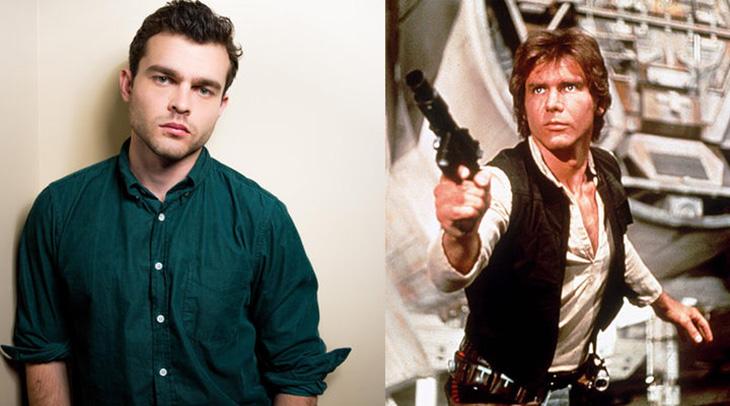 Alden Ehrenreich será el joven Han Solo