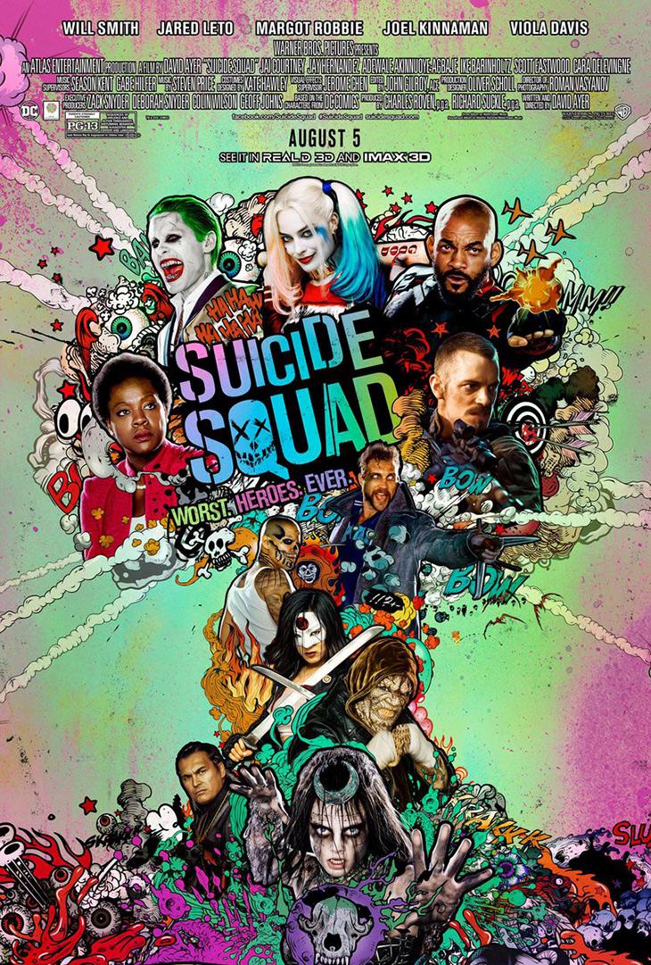 Nuevo póster de Escuadrón Suicida