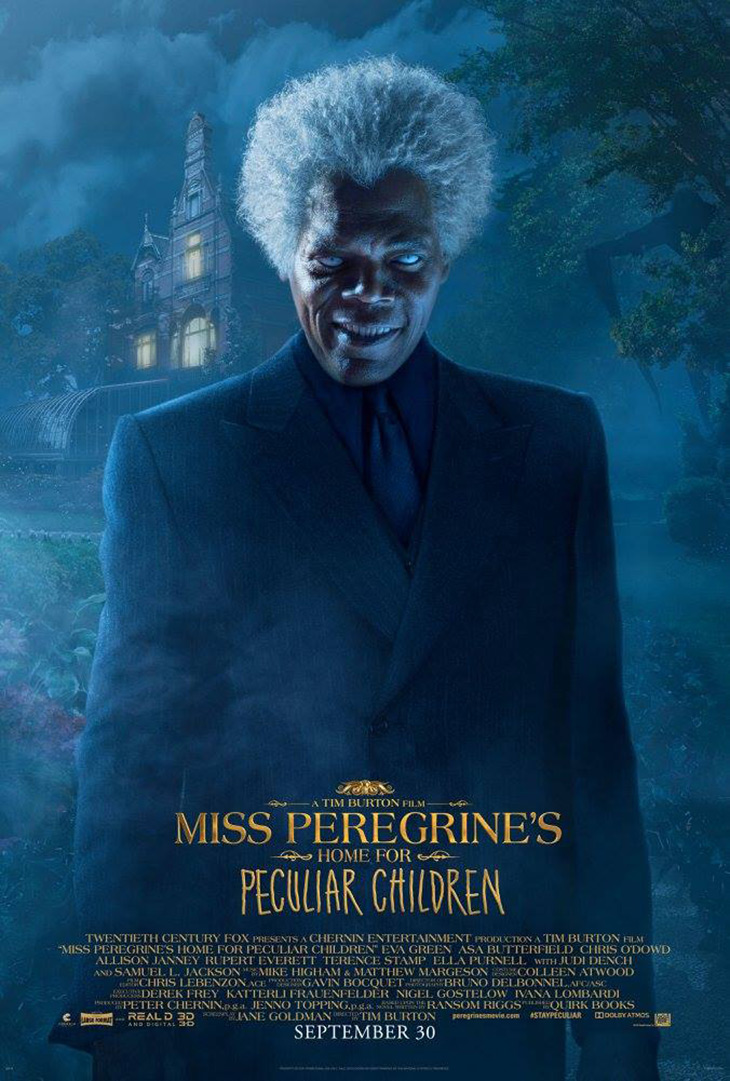 Póster de El hogar de Miss Peregrine para niños peculiares