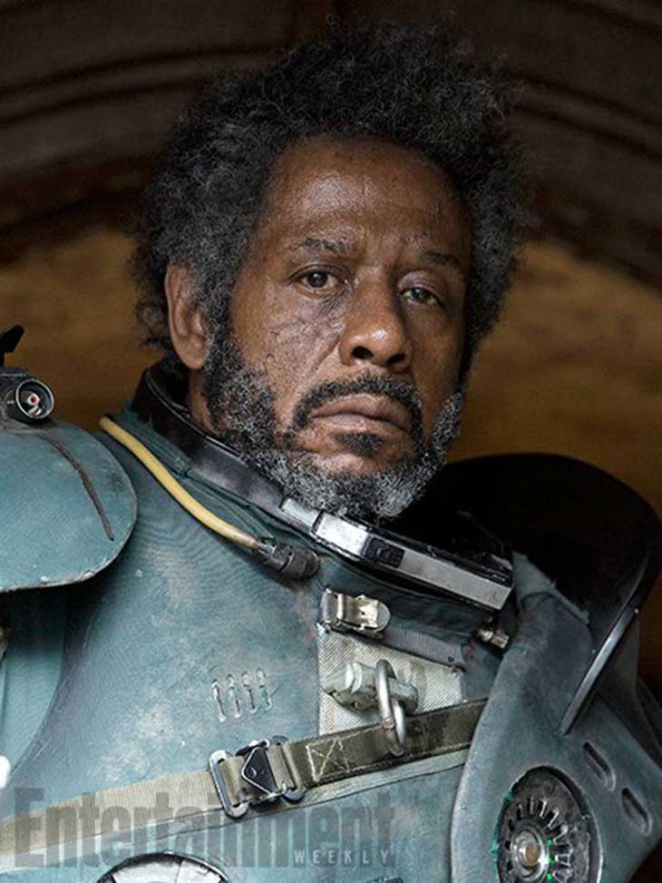 Forest Whitaker es Saw Guerrera en Rogue One