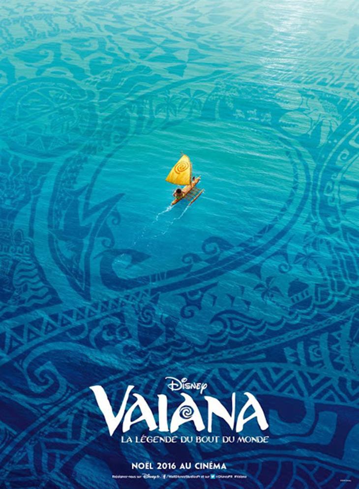 Póster internacional de Vaiana (Moana)