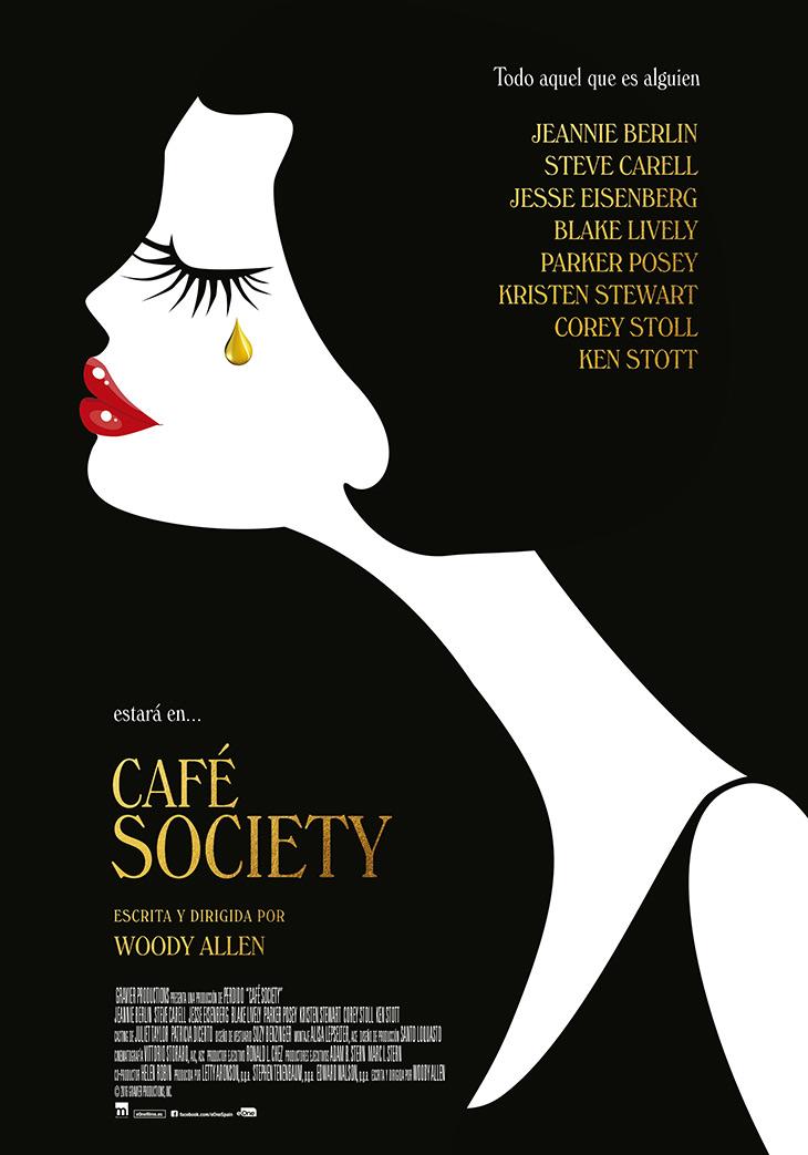 cartel en español de Café Society