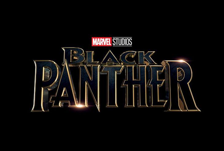 Logo Black Panther de Marvel