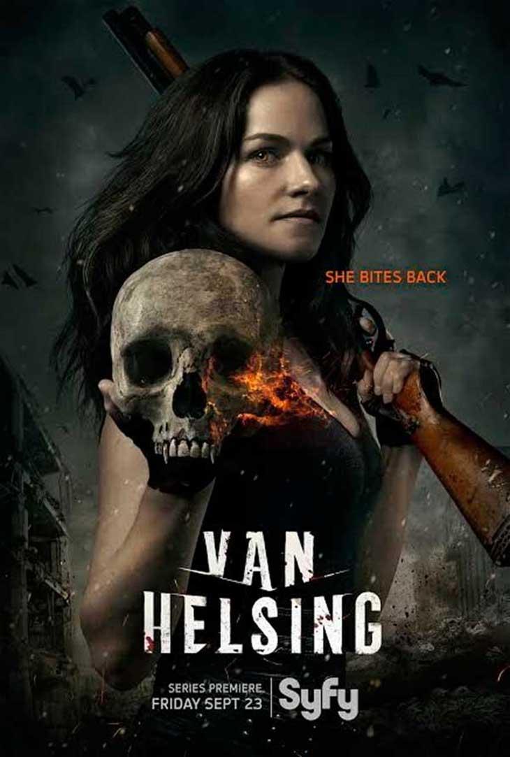 Póster de Van Helsing, de SyFy
