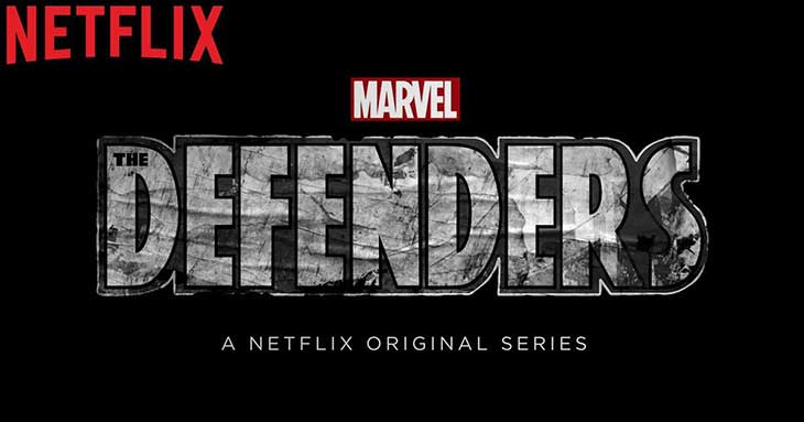 Logo de The Defenders, de Marvel y Netflix