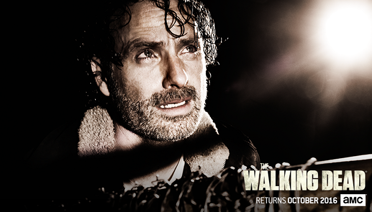 Poster para Andrew Lincoln en 'The walking dead'