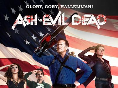Póster de 'Ash vs Evil Dead' destacada