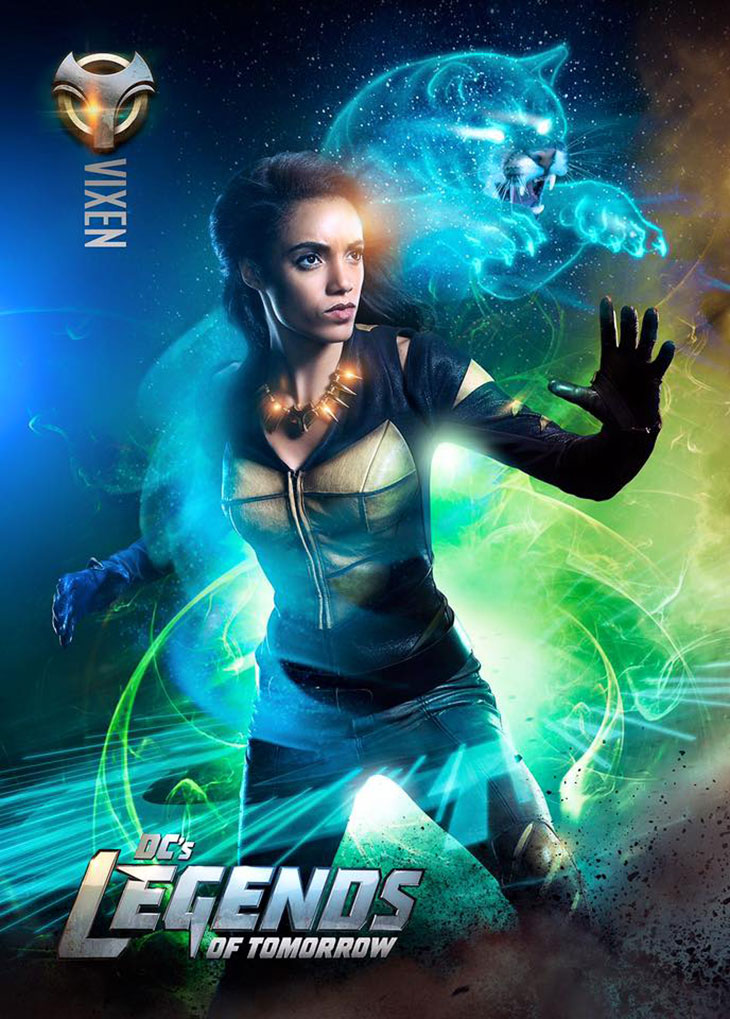Póster de Vixen en Legends of tomorrow