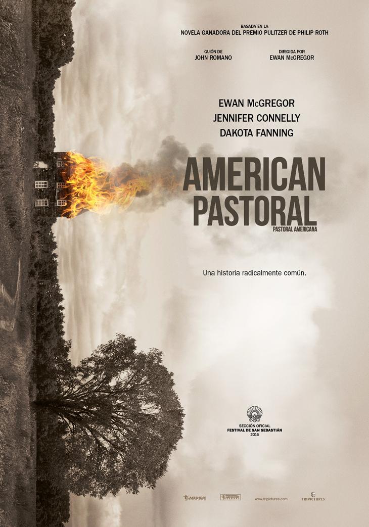 Teaser poster de 'American Pastoral', el debut en la dirección de Ewan McGregor