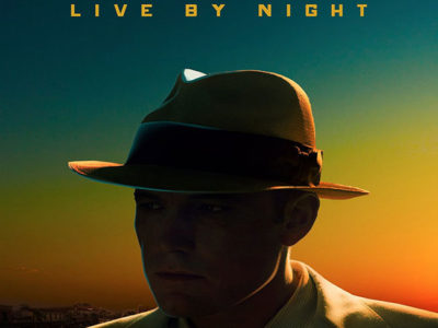 Póster de Live By Night, con Ben Affleck destacada