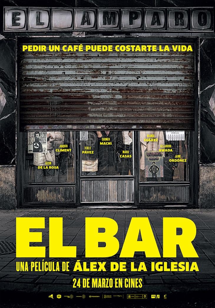 Primer teaser poster de 'El Bar'