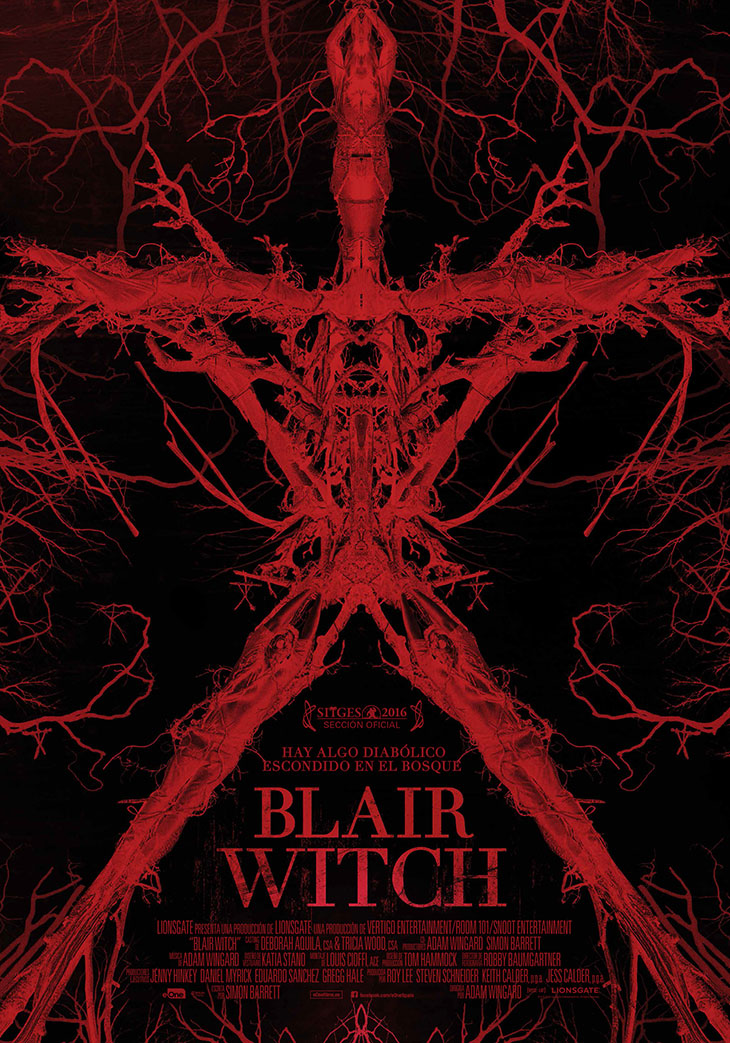 Póster en español de 'Blair Witch'