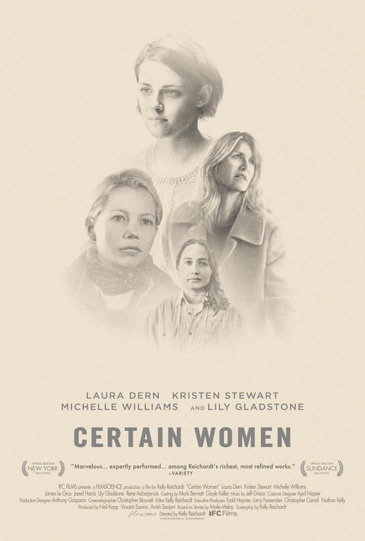 Póster de 'Certain women'