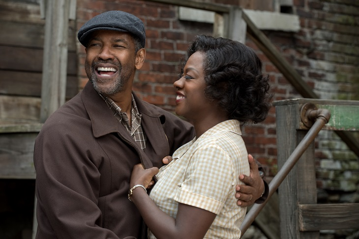 Denzel Washington y Viola Davis en 'Fences'