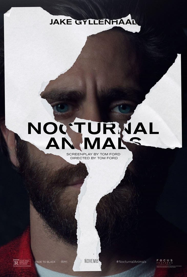 Póster de 'Nocturnal Animals' para Jake Gyllenhaal