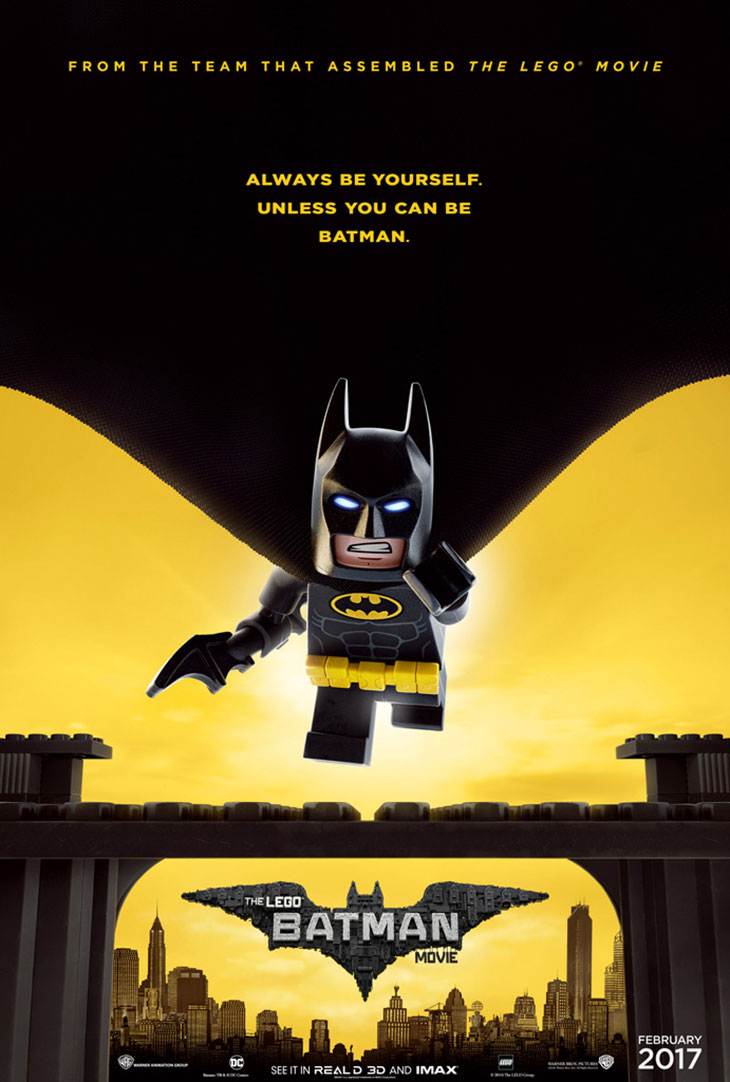 Póster de 'The LEGO Batman Movie'