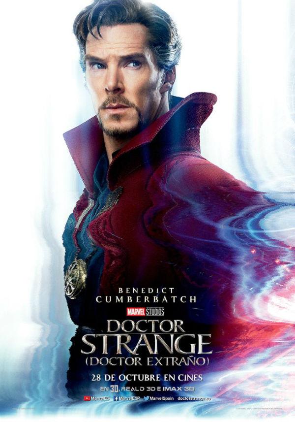 Póster de 'Doctor Strange (Doctor Extraño)'