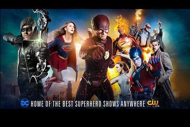 'The Flash', 'Arrow', 'Legends of tomorrow' y 'Supergirl' destacada