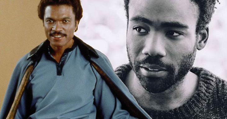 Donald Glover será el joven Lando Calrissian