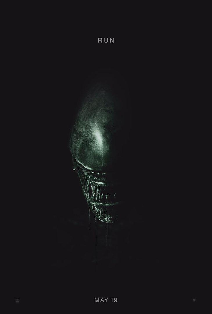 Primer póster de 'Alien: Covenant'