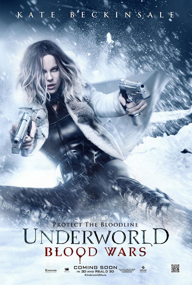 Nuevo póster de 'Underworld: guerras de sangre'
