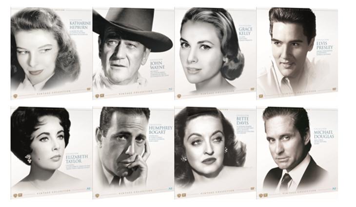 'Vintage Collection' agrupa en Blu-Ray y DVD las grandes películas del Hollywood clásico que todo amante del cine debe tener.