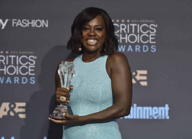 Viola Davis ganadora por 'Fences'