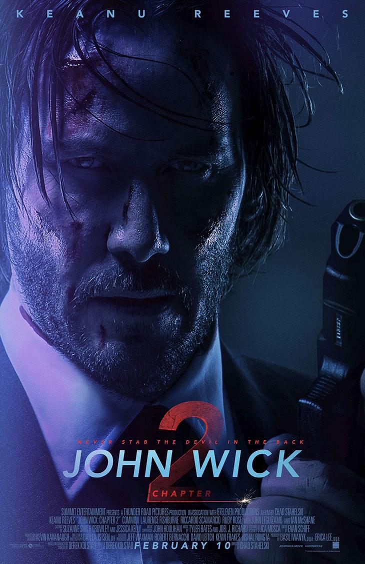 Póster de John Wick: chapter 2