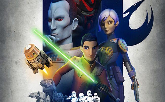Póster de Star Wars Rebels destacada
